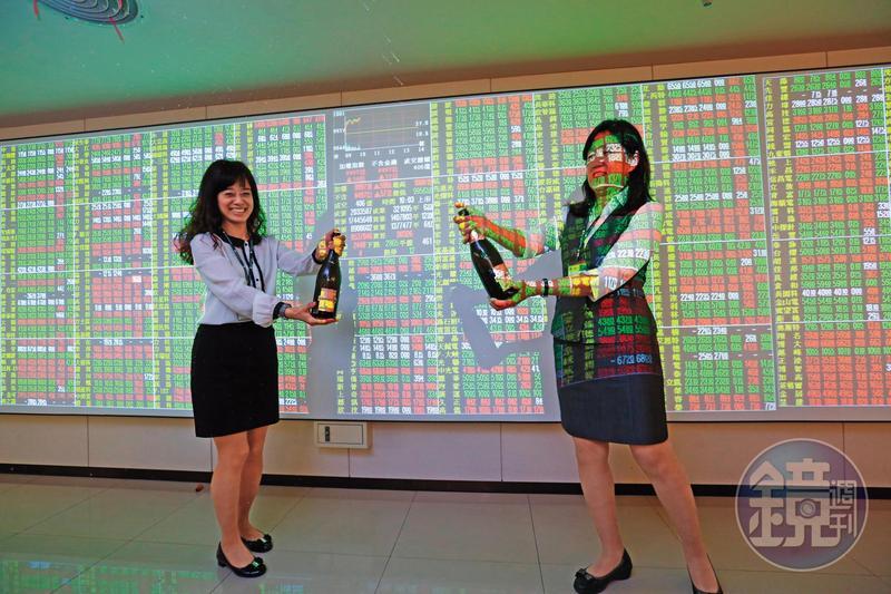 股市量能持續擴大,蔡總統認為會替國內消費提供充沛動能。