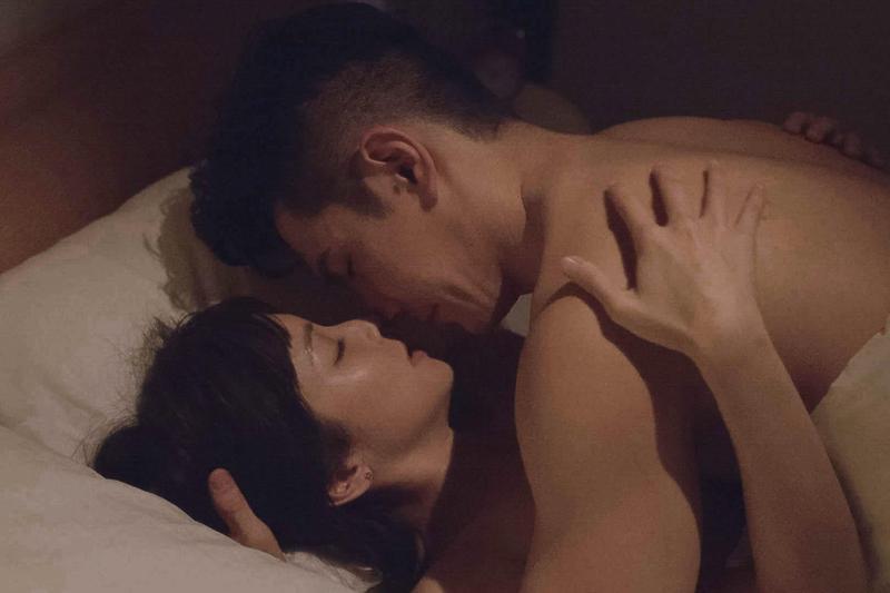 祖雄和袁詠琳在《秘密情人》中挑戰激烈床戲。(CHOCO TV提供)