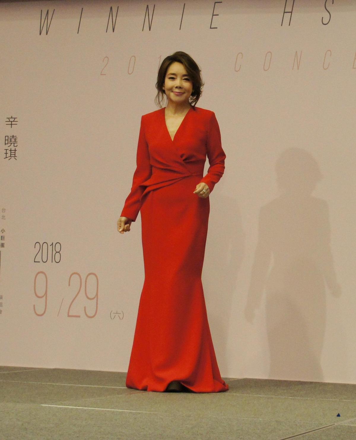 辛曉琪將登上台北小巨蛋開唱,推出好久不見的新作品〈相信愛情〉暖身。(滾石提供)