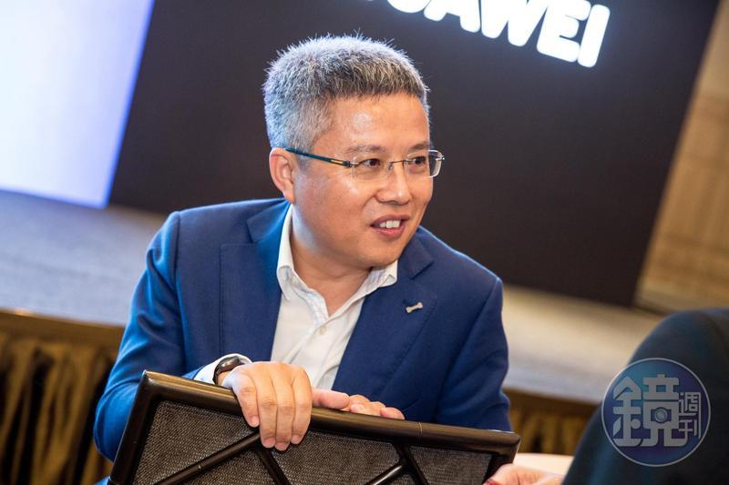 華為陸籍台灣老總雍海,勤練台語,想辦法跟國內經銷商搏感情。