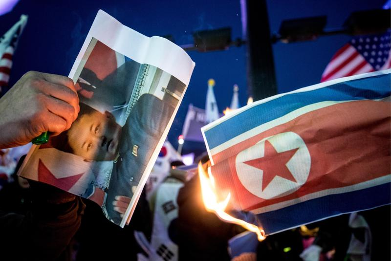 北韓領導人金正恩同意舉行兩韓峰會與「川金會」,葫蘆裡賣什麼藥引發各方揣測。(東方IC)