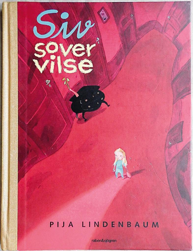《西西夢遊仙境》是瑞典插畫家碧佳林登堡的繪本作品之一。(翻攝自tradera.com)