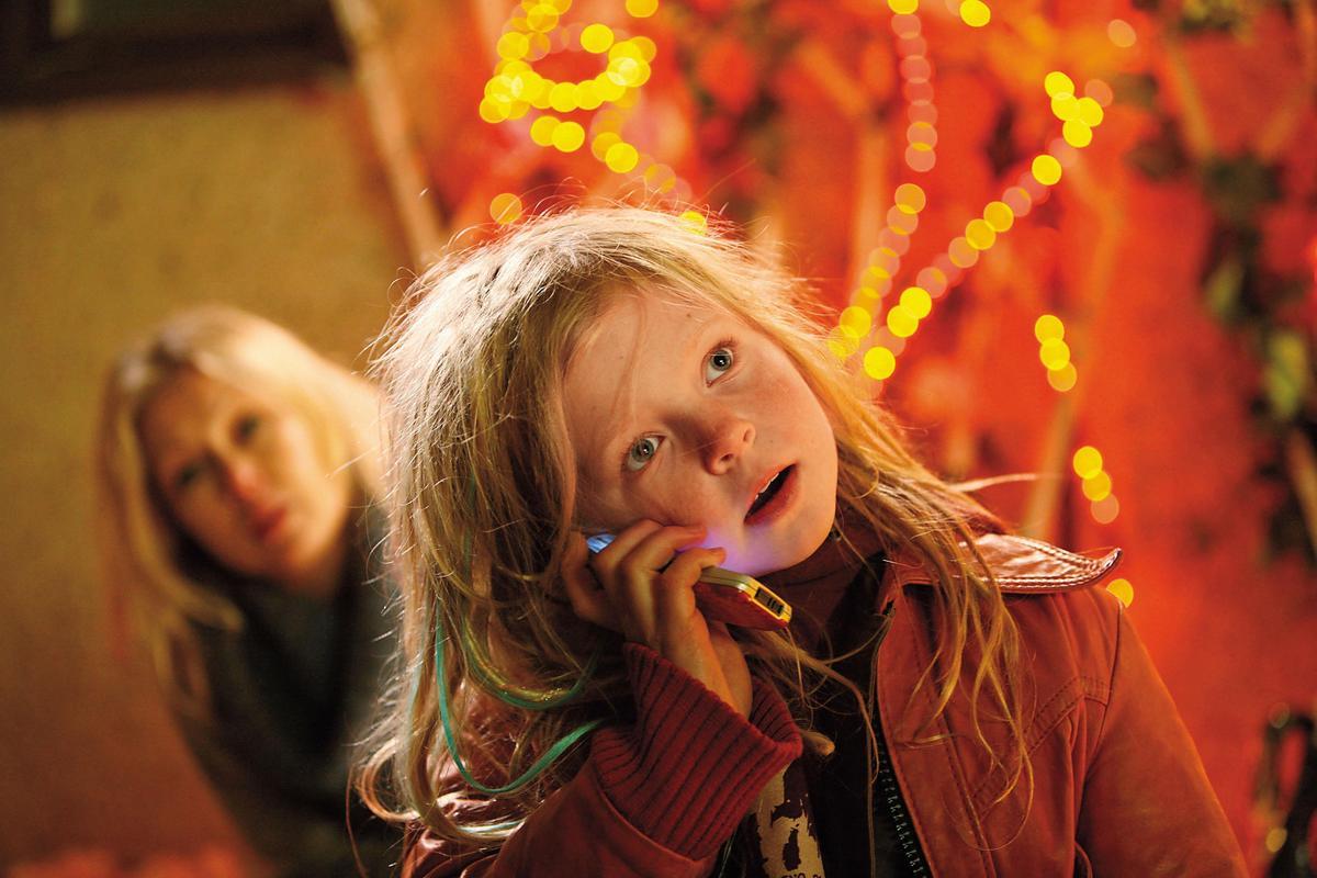 《西》片導演之一卡迪艾菲特也曾來台出席國際兒童影展,介紹她的作品《我的嘻哈奶爸》。(台灣國際兒童影展提供)