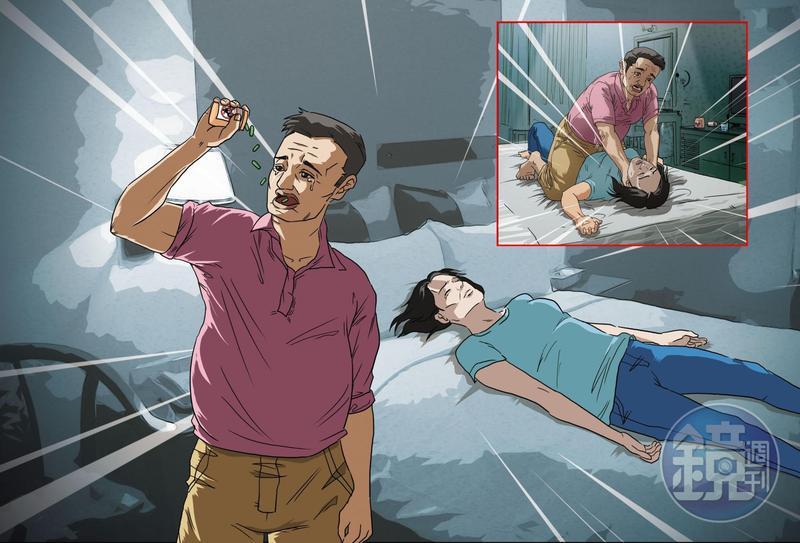 中和蔡姓男子不堪長期照顧精障妹妹的壓力,竟選擇親手掐死妹妹,而殺了妹妹後他也不願獨活,吞老鼠藥試圖自盡。