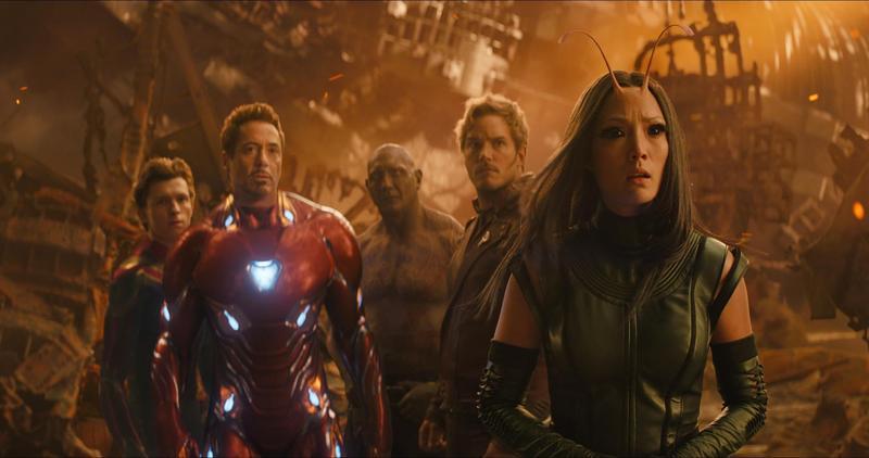 《復仇者聯盟:無限之戰》集結漫威歷年英雄,威力果然經然,以新台幣5,260萬元的開畫紀錄成為漫威史上最佳。(迪士尼提供)