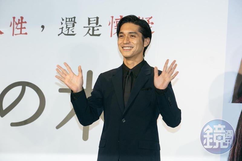 等了11年,日本傑尼斯關8成員錦戶亮為電影《羊之木》宣傳,終於再度來到台灣跟大家見面。