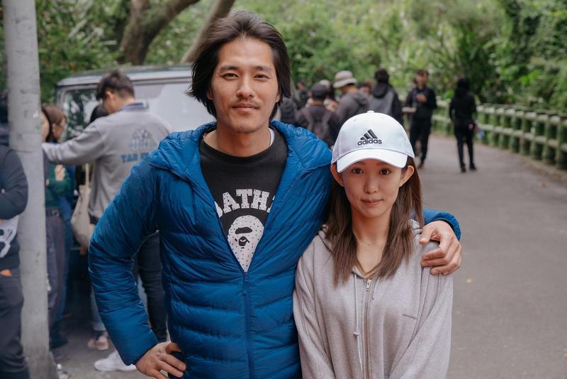 郭書瑤讚藍正龍是她見過最帥的導演。(華映)