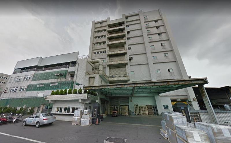 敬鵬平鎮廠大火,造成消防員5人死亡。(翻攝自google map)