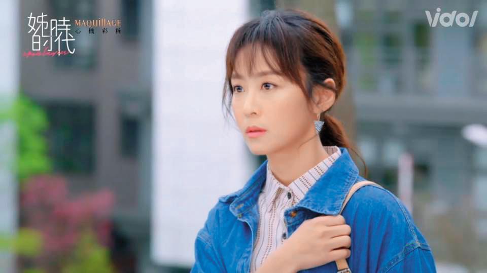 在偶像劇《姊的時代》中,林昀希飾演介入鍾瑶與藍鈞天8年感情的小三,戲外則經歷過被小三破壞感情的痛苦。(翻攝自林昀希臉書)