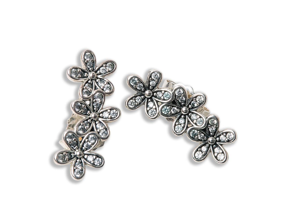 PANDORA耳環。約NT$2,000