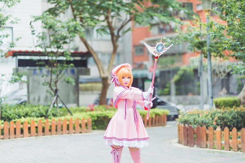 肉感少女-Neneko,你也可以叫她肉肉,資深台灣 Cosplayer一枚。(攝影/陳語瑄(小喵))