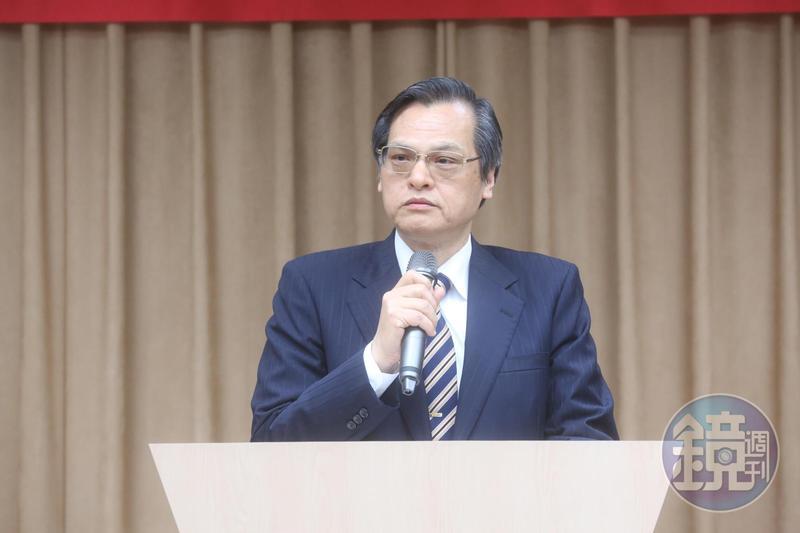 中國與多明尼加建交,陸委會發布聲明對北京表示強烈不滿。圖為陸委會主委陳明通。
