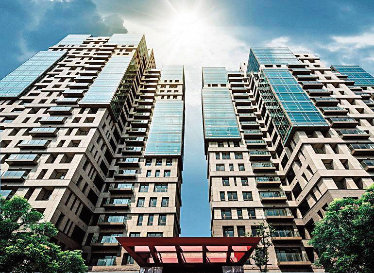 羅志祥堪稱明星地產王,之前買「文心AIT」17樓自住,這次又購入23樓兩戶打通,欲當結婚新房。(翻攝自文心AIT官網)