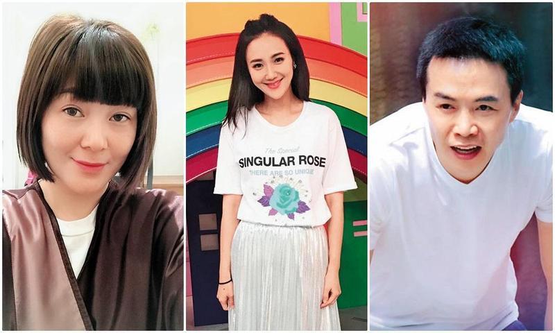Vicky(左起)、何妤玟及吳鈴山也曾經歷過與另一半無話可說的地步。