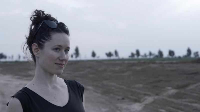 《尋找錫安》導演塔瑪拉‧厄爾德拜訪鄰近加薩的以色列集體公社奇蘇芬(Kibbutz Kissufim),探索今日已不復見的生活剪影。(Tamara Erde提供)