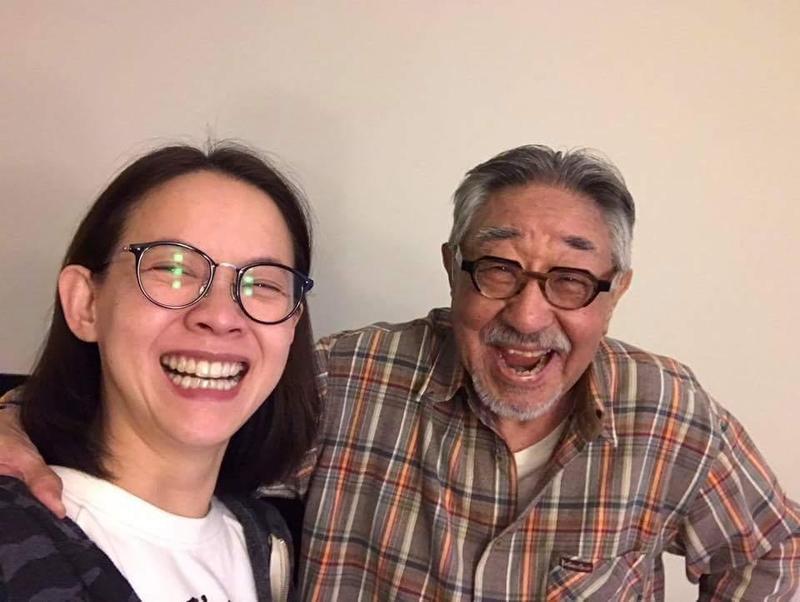 曾寶儀在臉書悼念孫越。(翻攝臉書)