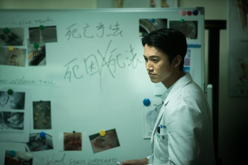 去年台北電影節影帝吳慷仁,在《引爆點》 逐漸走入抗爭自焚真相的謎團。(台北電影節提供)