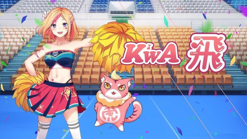Vtuber 團體「K'WA」的第一首創作歌曲「飛」為 106 年度大專啦啦隊錦標賽主題曲。(KKBOX 提供)