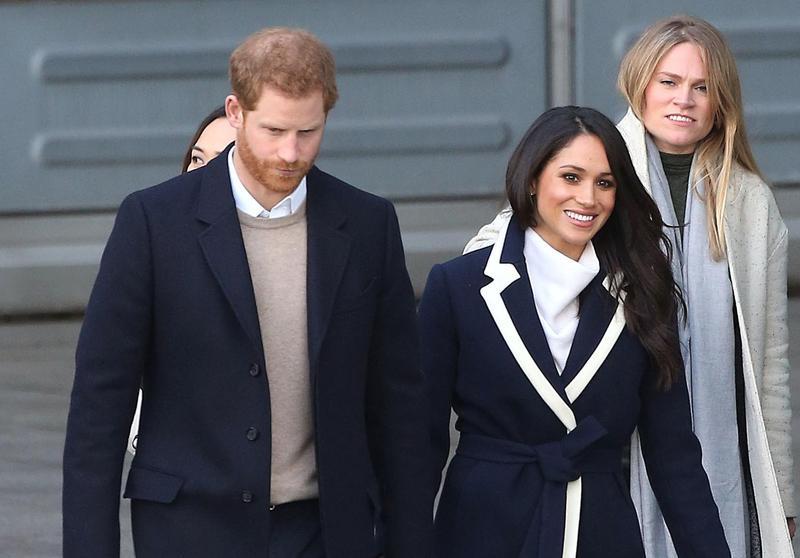 英國哈利王子和好萊塢女星梅根馬克爾的皇家婚禮即將舉行。(東方IC)