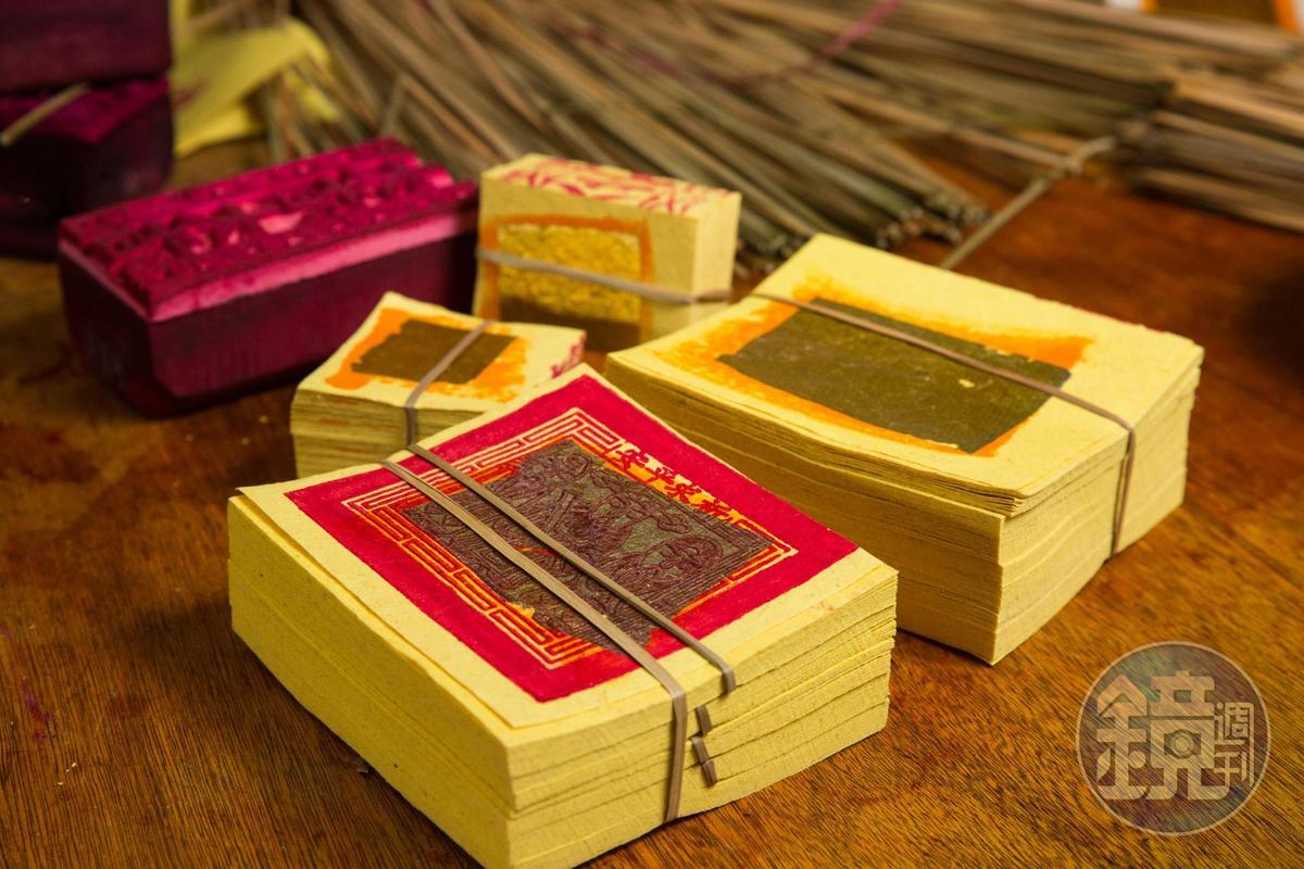 陳坤輝認為金紙燒多不如燒好,誠心最重要。