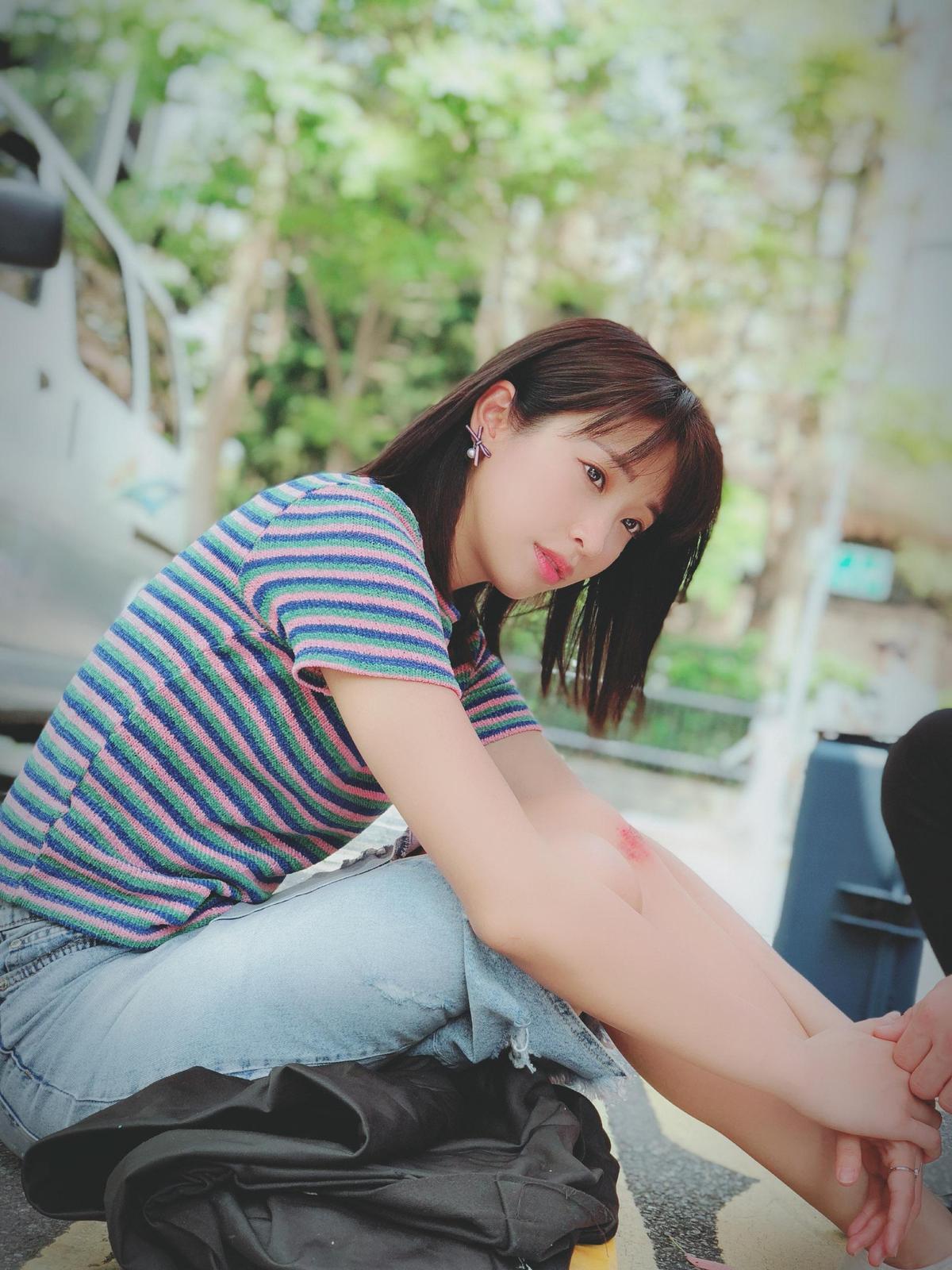 袁詠琳在CHOCO TV《秘密情人》中,獻出許多第一次,包含第一次當女一,也首次挑戰床戲,更是第一次演「哭戲」哭到這麼慘。