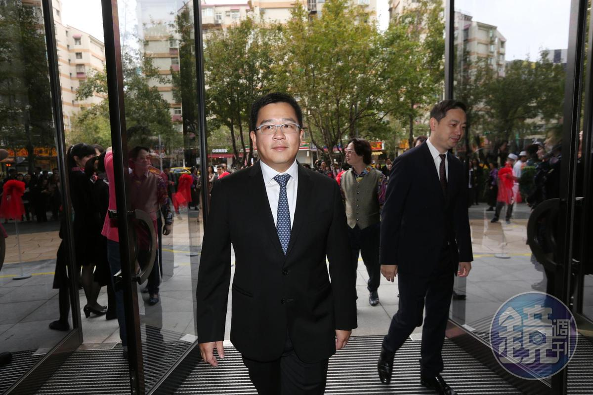 台北萬豪抗稅官司敗訴,表示不再上訴,會繼續賺錢努力繳稅,圖為台北萬豪少東劉恆昌。