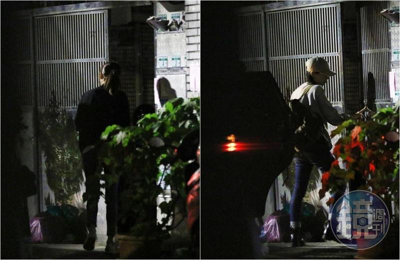林予晞和鄭宜農兩人被本刊直擊同居中,經紀人表示兩人是室友。