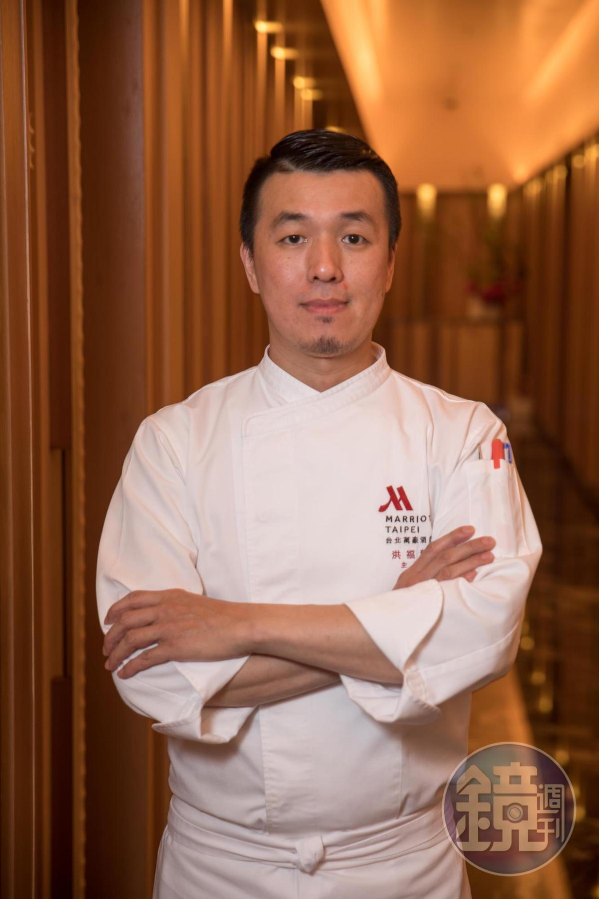 宴客樓主廚洪福龍把台菜解構重組,滋味細緻,令人驚喜。