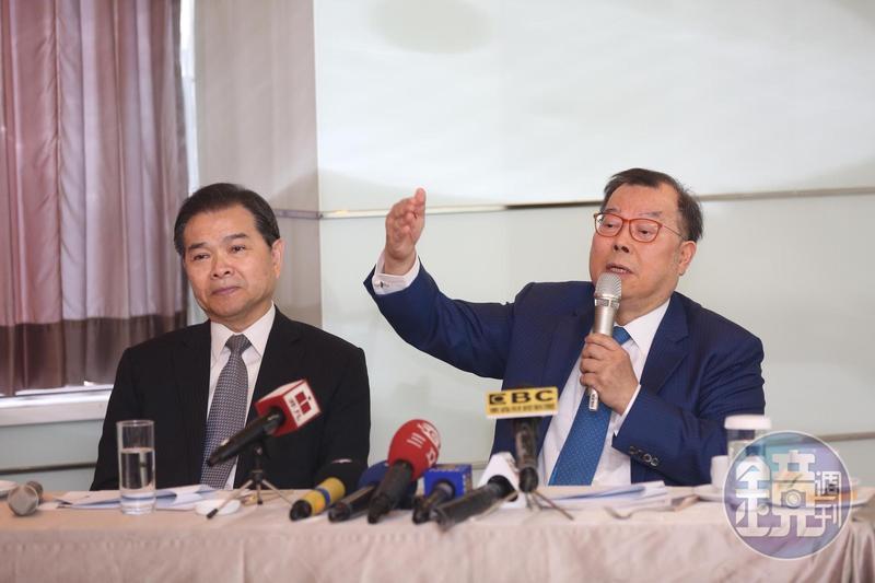 黃崇仁在記者會上表示,力晶目標是2020年在台灣上市。