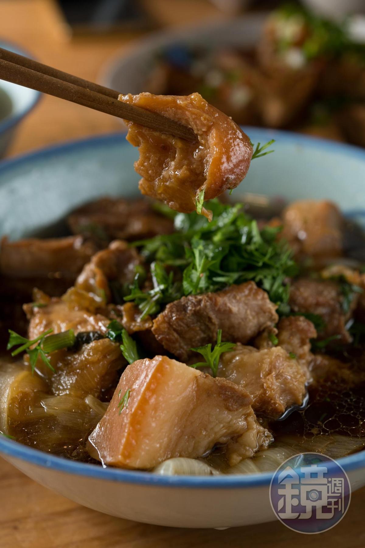 最受歡迎的滷肉,肥而不膩。