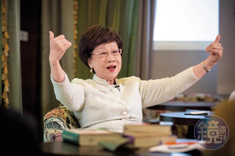 呂秀蓮宣布參選台北市長,盼老驥伏櫪再寫新頁。