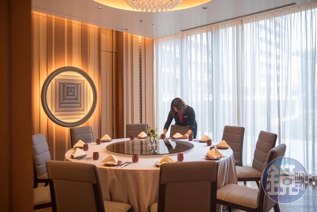 宴客樓餐廳除提供川粵蘇浙台式料理,也點得到總統蔡英文就任的國宴料理。