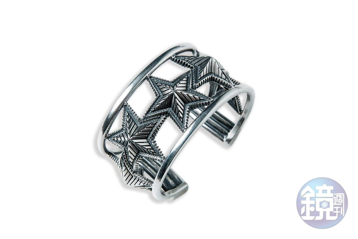 Cody Sanderson星星手環,NT$74,250。