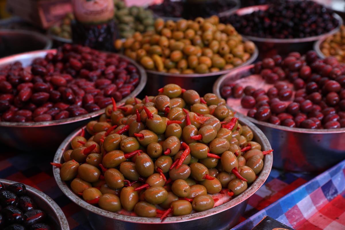 橄欖是以色列人最愛的開胃菜。