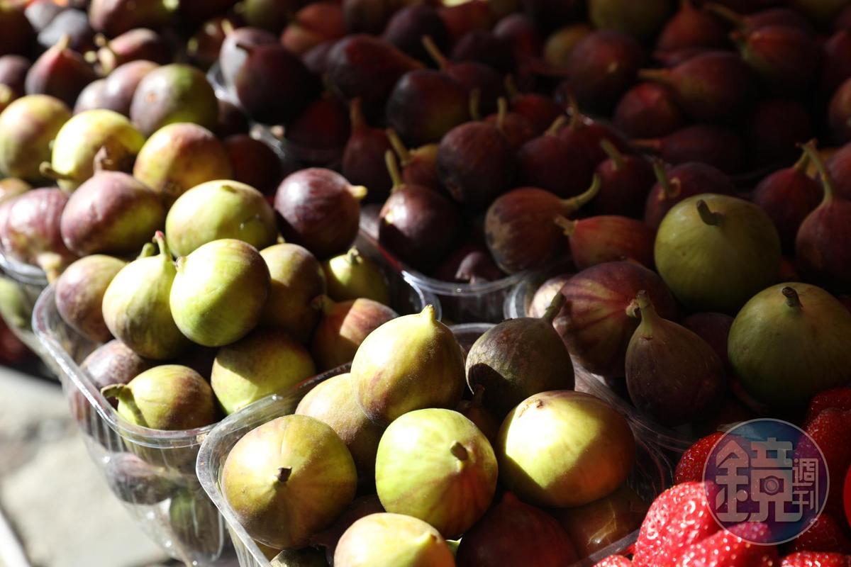 新鮮無花果是環地中海國家的特產,以色列也有。