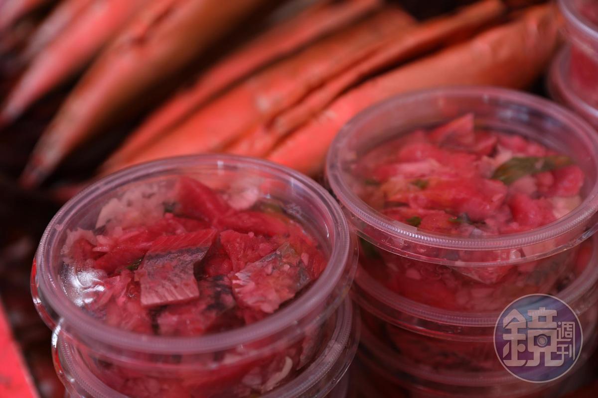 醃漬過的鯡魚,是老饕最愛的味道。