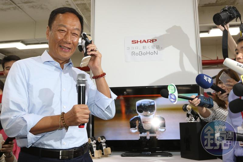 鴻海宣布減資,董事長郭台銘明年繳交股利所得稅變得很輕鬆。