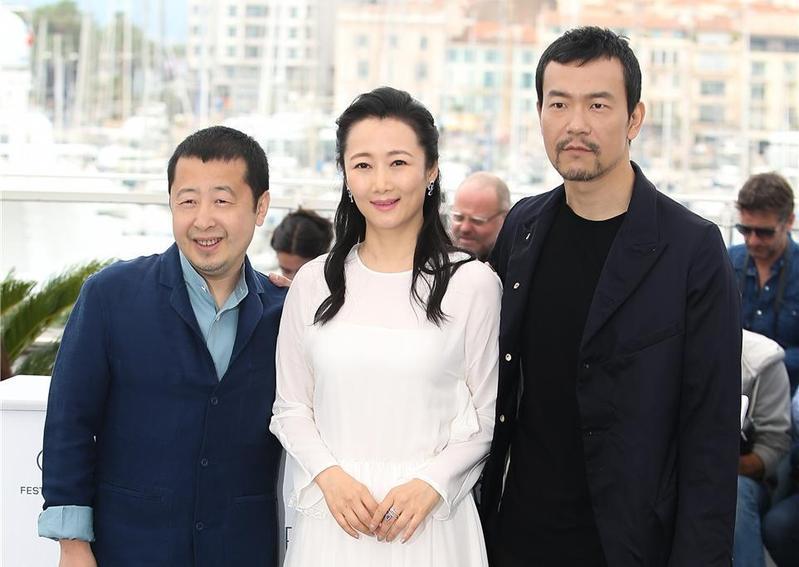 導演賈樟柯、女主角趙濤及男主角廖凡。(佳映提供)