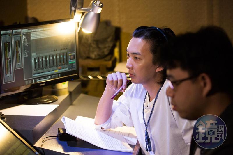郭霖擔任聲音導演七年,他表示聲導就是專案管理,每個環節都要顧到,才能做出好作品。