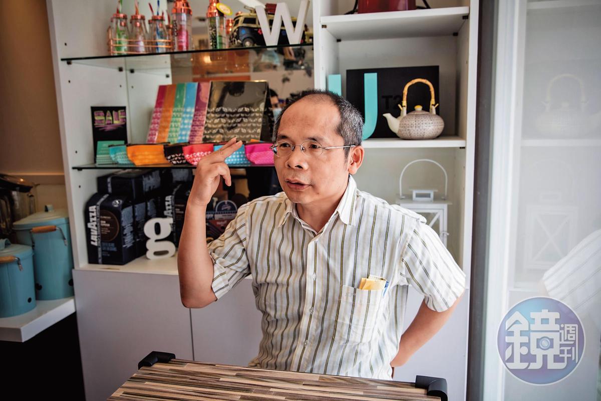 德明科大助理教授劉任昌上月在校外被打,雖然沒有證據,但他直指許建隆是最可能的唆使者。