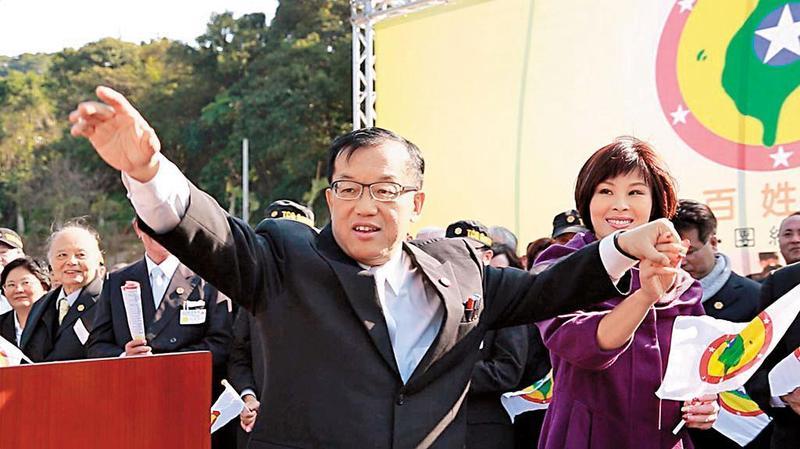 台灣民政府祕書長林志昇(左)、林梓安(右)夫婦,遭逾百位民眾提告詐欺。(翻攝台灣民政府官網)