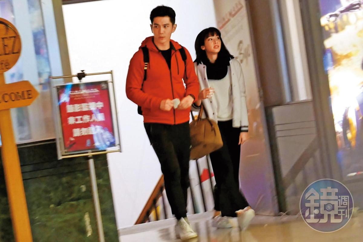 今年3月,祖雄和袁詠琳被本刊直擊看電影約會傳出緋聞。