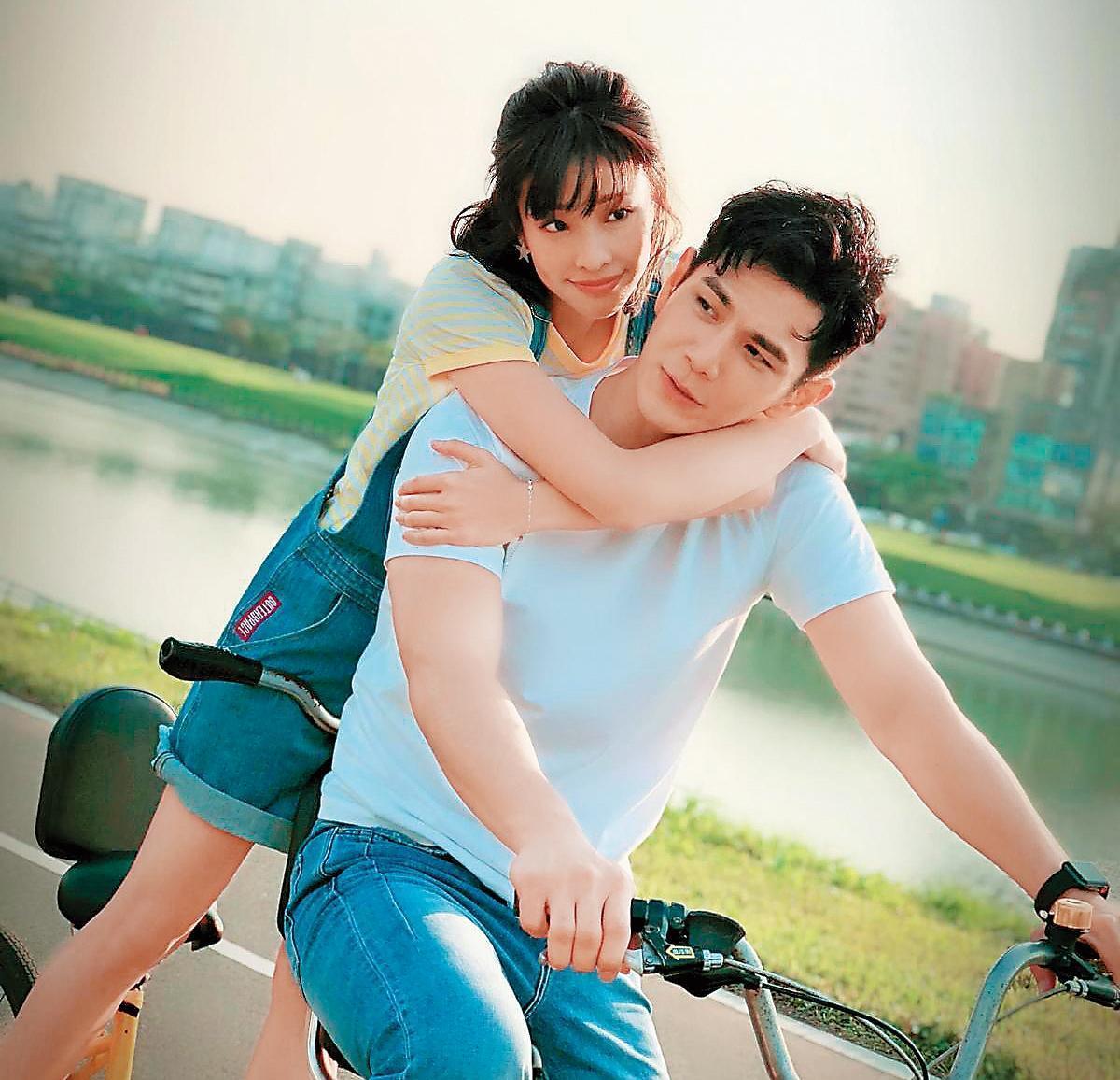 祖雄和袁詠琳首度合作新戲就有許多親密戲,兩人開拍前就經常傳訊息培養默契。(翻攝自CHOCO TV)