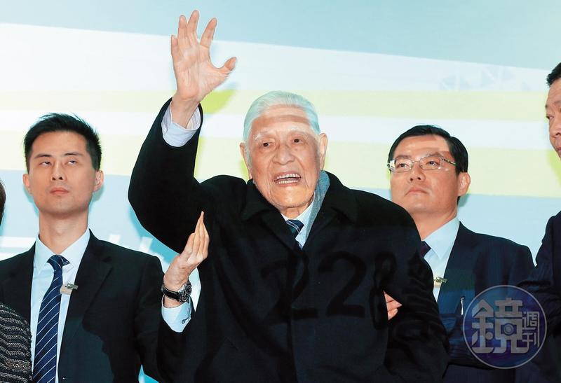 經過台北榮總加護病房6天治療後,前總統李登輝碰撞傷已恢復。