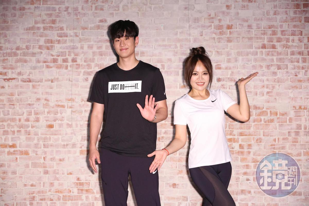戴愛玲、周興哲為6月3日的《2018 hito流行音樂獎頒獎典禮》進行體能訓練,兩人將在典禮中有精彩表演。