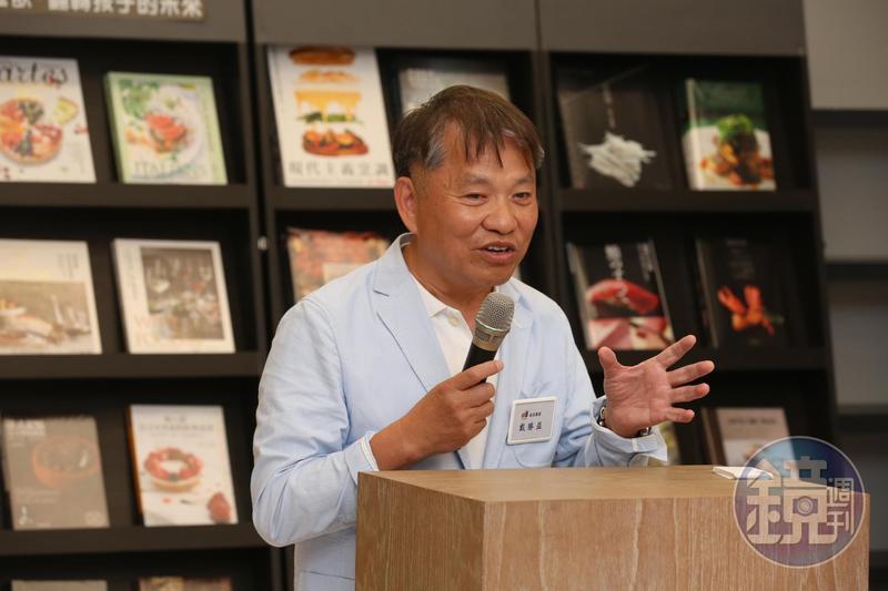 王品創辦人戴勝益積極推廣公益,近期還舉辦巡迴書展,希望大家能從閱讀、做餐飲有所成就。