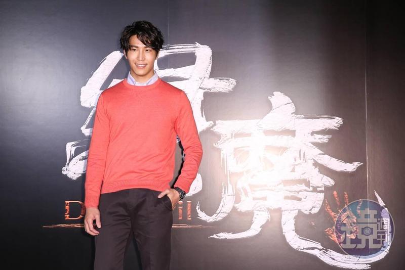 吳翔震在《緝魔》中的角色很關鍵。