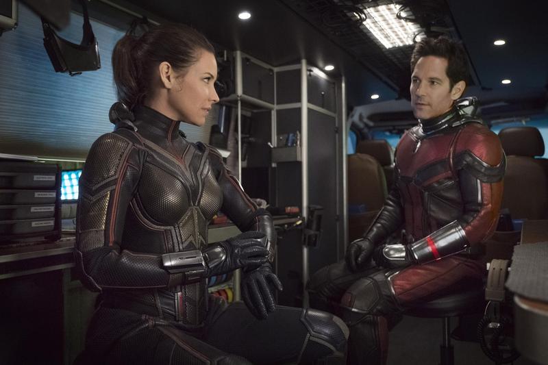 「蟻人」保羅路德、「黃蜂女」伊凡潔琳莉莉將於6月來台宣傳,他們也是第一組來台的MCU宇宙的超級英雄。 (迪士尼提供)