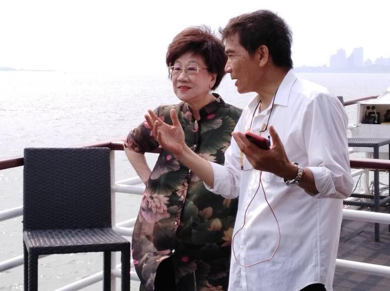 前副總統呂秀蓮於臉書表示,民進黨自提人選參戰是台北市民忍受柯文哲4年施政幾近「一事無成」後的共同心願。(翻攝自呂秀蓮臉書)