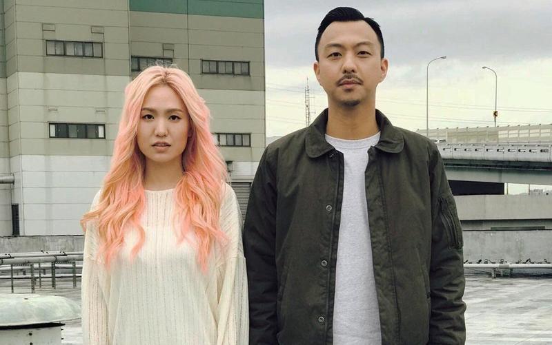 新人賴慈泓與孫盛希合作單曲〈我的事不關你的事〉。(混血兒娛樂提供)